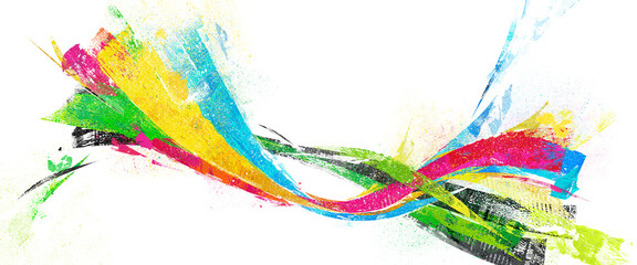 Obraz Olympic colors, background texture - fototapety do salonu