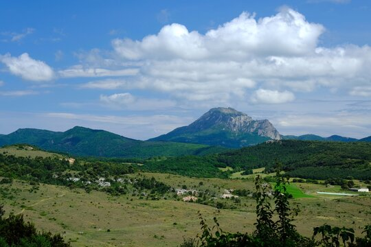 Le mont Bugarach - Bugarach mountain