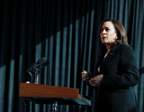 U.S. Vice President Harris visits Mexico