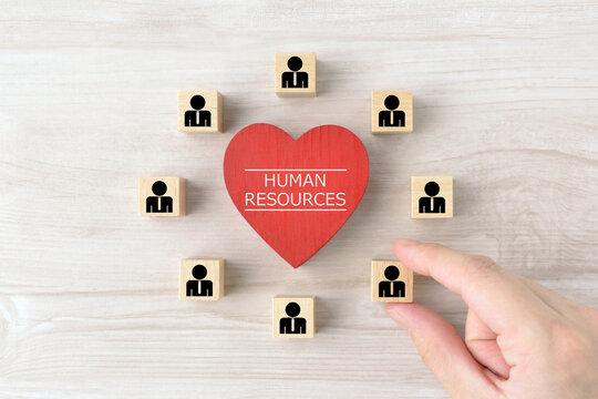 人材・人的資源の確保イメージ