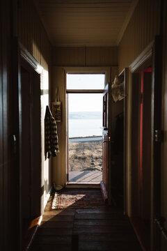 Corridor of cozy house