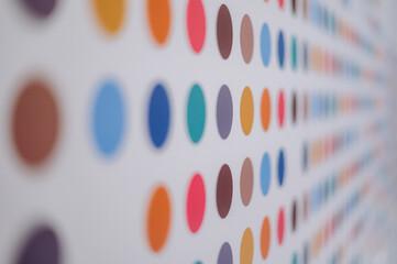Obraz Kolorowe kropki - fototapety do salonu