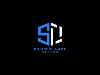 Fototapeta Letter SO Logo, creative so logo icon vector for business obraz
