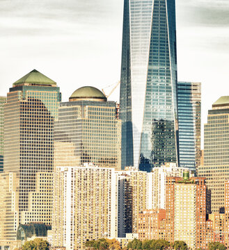 Beautiful skyline of New York City