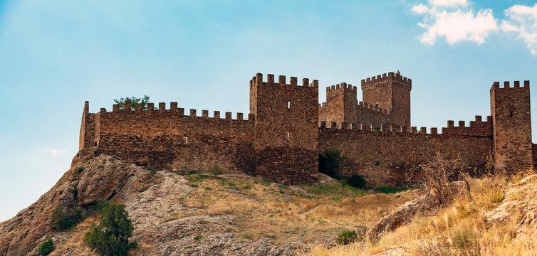 Old fortress in Sudak, Crimea