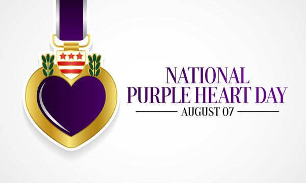 National Purple heart day is observed every year on August 7, to remember and honor the brave men and women who were either wounded on the battlefield, or paid the ultimate sacrifice with their lives.
