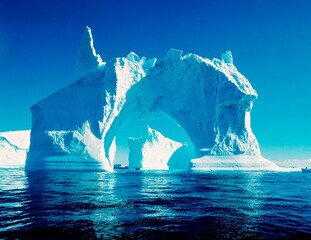 antarctica, sea, icebergs, arctic peninsula, south pole, southern ocean, waters, arctic ocean, iceberg, ice formations, ice formation, nature, water, landscape, ice, shapes, gate, arch, blue,