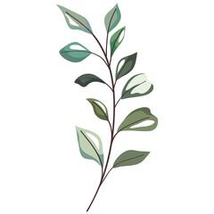 Fototapeta Isolated leaves icon obraz