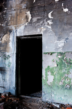 A doorway in the wall after a fire is a path to nowhere.