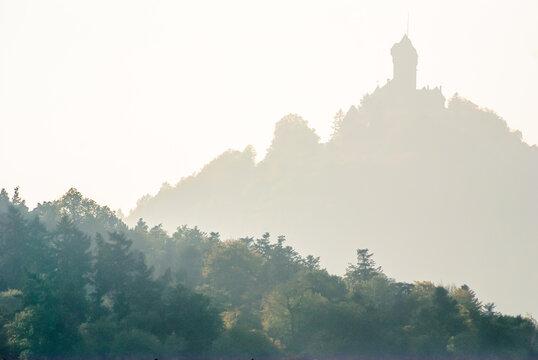Haut Koenigsbourg castle in Alsace.