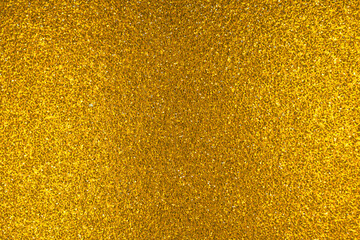 Gold glitter texture and pattern close-up, abstract shiny surface, luxury and glowing background...