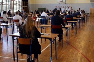 Obraz Egzamin maturalny - fototapety do salonu