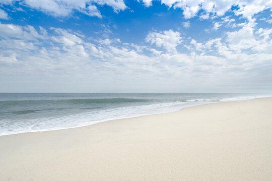 Beach at Siasconset, Nantucket Island