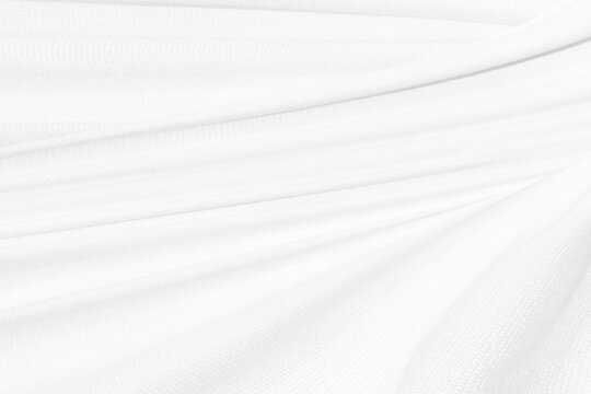 beauty soft line fabric white abstract smooth curve shape decorate fashion textile background