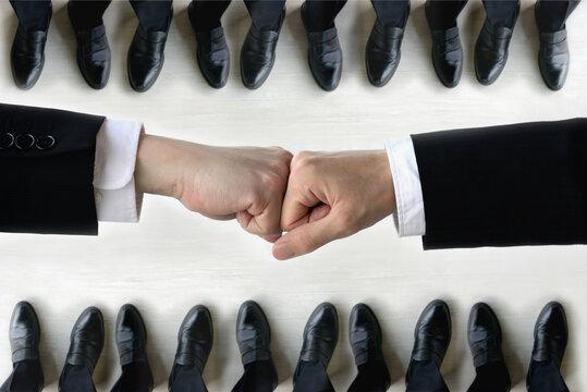 ビジネスイメージ―対立・抗争・協力