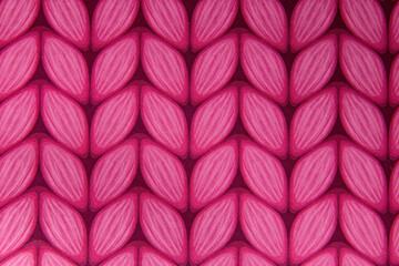 Różowe listki