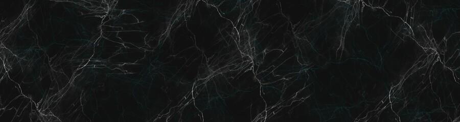 grunge texture background,black marble background with yellow veins - fototapety na wymiar