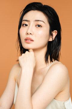 Juicy Skin Beauty Portrait