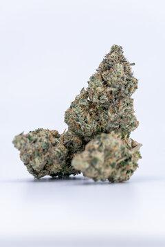 Cannabis Flower Macro - Strain: Cement Shoes