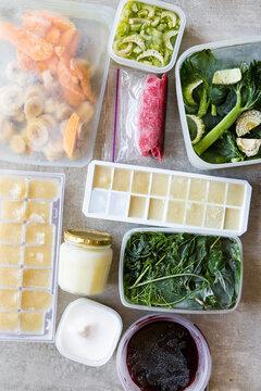 Zero waste frozen foods