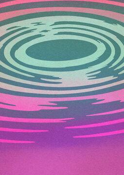 Water Ripples Illustration