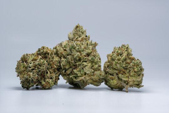Cannabis Flower Macro - Strain: Deadhead OG