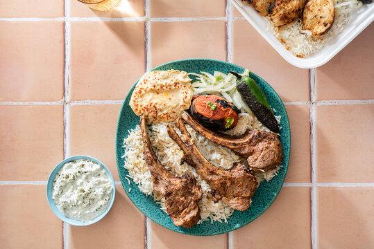 Lamb dish takeout