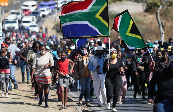 Soweto march in protest against crime