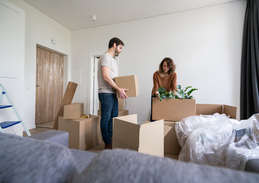 Moving At New Home