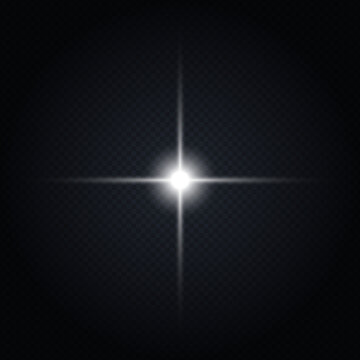 キラキラのスパークルな光のイラスト素材(ベクターあり)