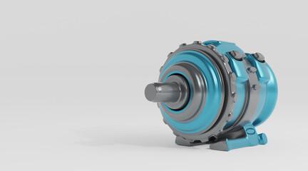Fototapeta Future electric motor obraz