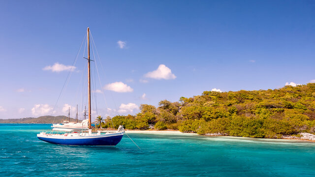 St. Vincent and the Grenadines, The Tobago Cays are a group of islands belonging to St. Vincent and the Grenadines in the Caribbean,  Union Island