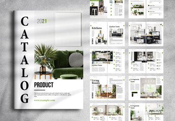 Fototapeta Product Catalog Layout obraz