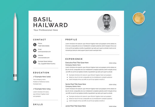 Clean Resume Layout
