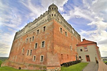Fototapeta Gotycko-renesansowy Zamek w Golubiu-Dobrzyniu, Polska. obraz