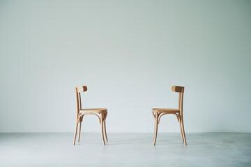 Obraz 部屋と椅子 - fototapety do salonu