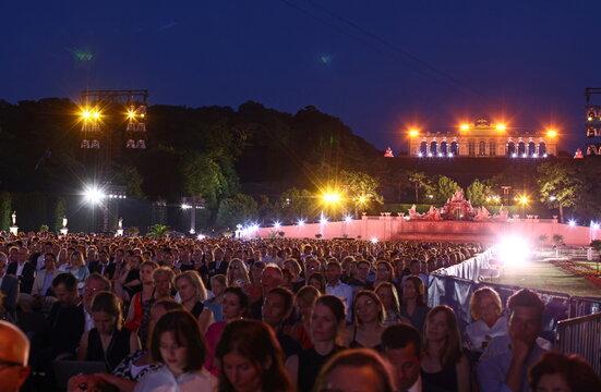 Summer Night Concert of the Vienna Philharmonic Orchestra in Vienna