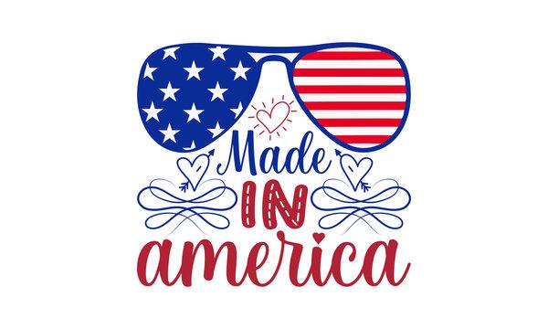 Made in america SVG,