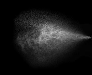 Obraz spray water drop droplet steam fog air wet mist liquid fluid background aerosol air sprinkle - fototapety do salonu