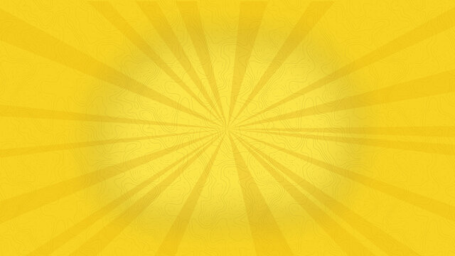 yellow sunburst background with rays and texture
