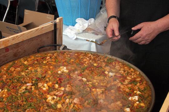 イタリア料理パエリアOLYMPUS DIGITAL CAMERA