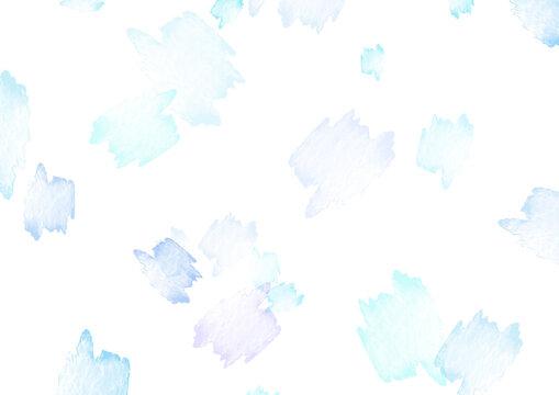 水彩模様の背景