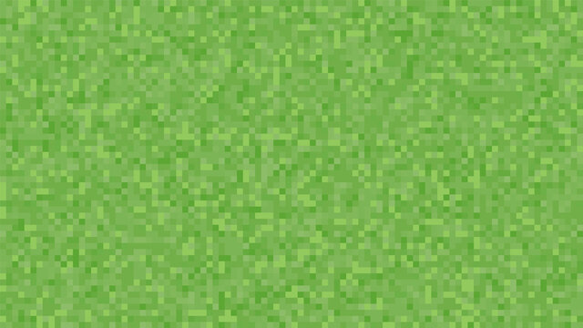 Pixel background. The concept of games background. Squares pattern background. Minecraft concept. Vector illustration. Light Green vector abstract textured polygonal background