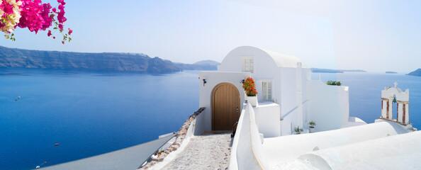 Obraz beautiful details of Santorini island, Greece - fototapety do salonu
