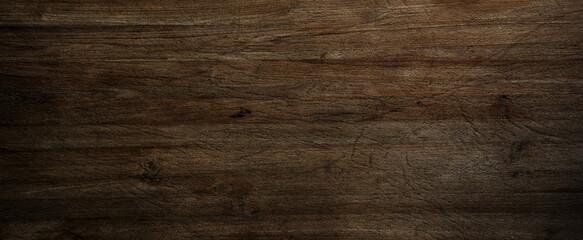 Fototapeta Dark wood background, old black wood texture for background obraz