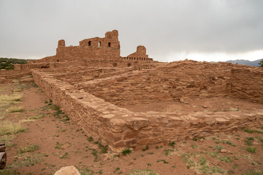 Abo Ruins, part of Salinas Pueblo Missions National Monument