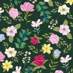 pattern flowers garden