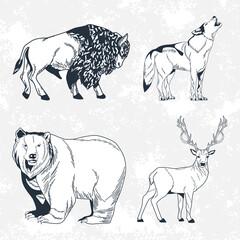 wanderlust four animals