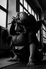Fototapeta Brazylijskie jiu jitsu - walka obraz