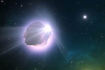 An interstellar comet, asteroid that crossed into our solar system